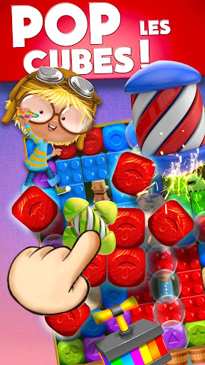 Toy Box Party Blast Time - Match Crush Toon Cubes  captures d'écran 1