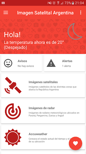 Imagen Satelital Argentina 4.9 screenshots 1