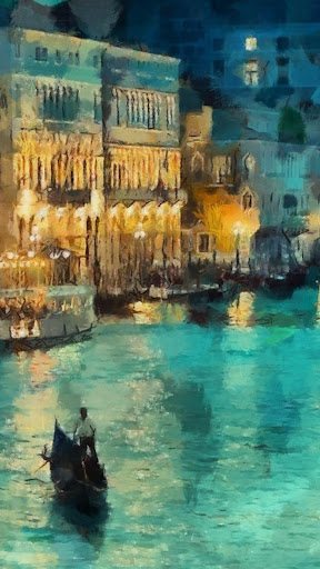 Painting.City.Live Wallpaper