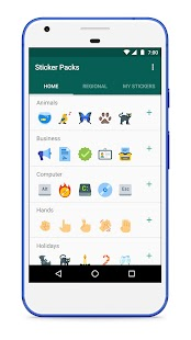 Sticker Packs for WhatsApp Screenshot