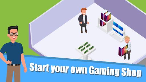Gaming Shop Tycoon  - Idle Shopkeeper Tycoon Game apktreat screenshots 2