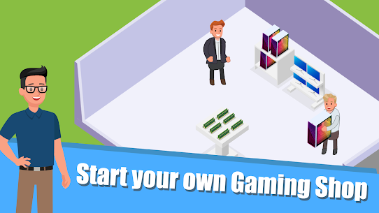 Gaming Shop Tycoon MOD (Unlimited Money/Bitcoin) 2
