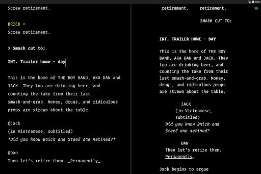 JotterPad - Writer, Screenplay, Novel 12.10.3-pi Screenshots 14