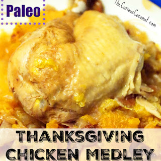 Thanksgiving Chicken Medley (Paleo, AIP, Instant Pot)