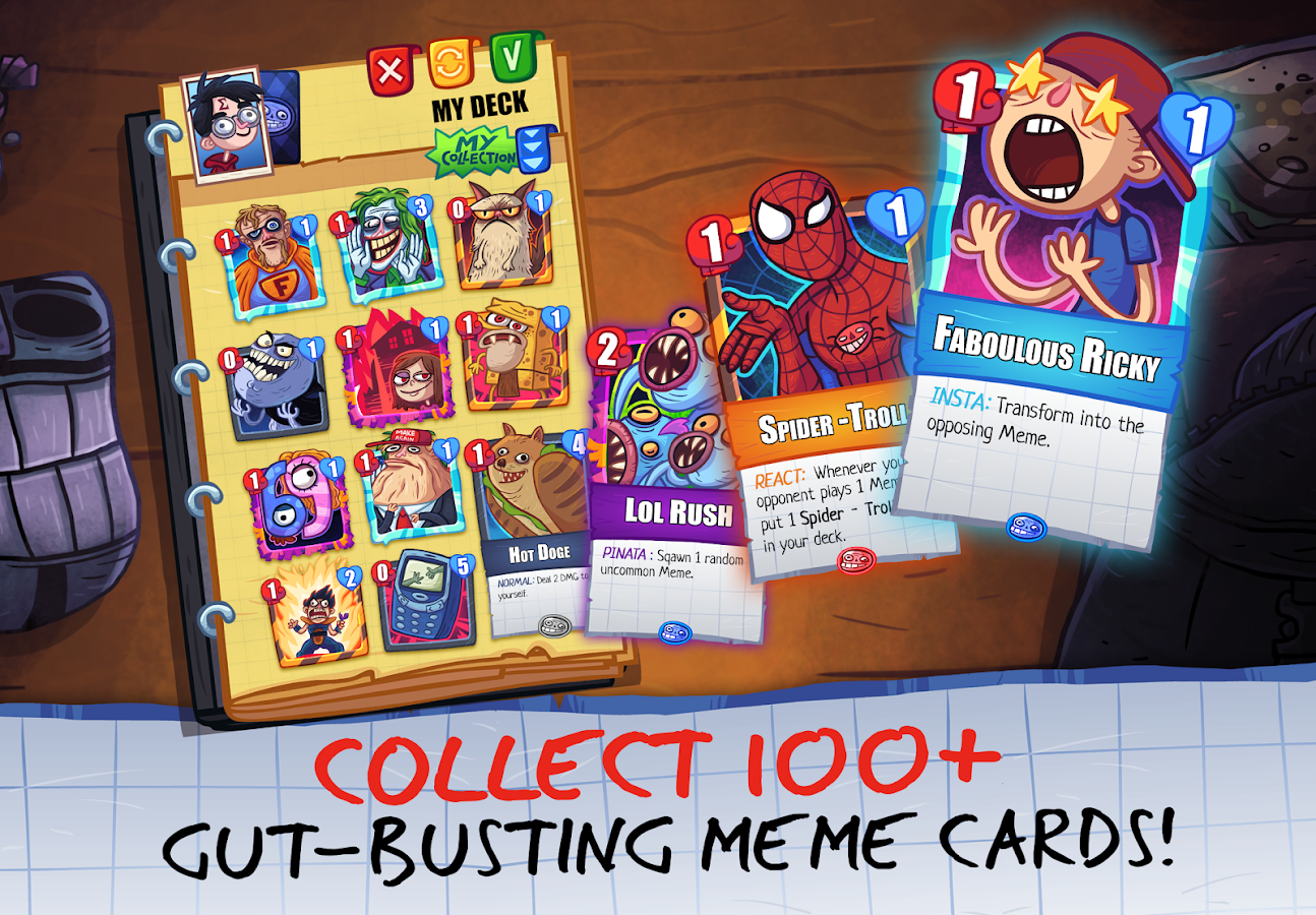 Troll Face Card Quest (Unreleased)- screenshot