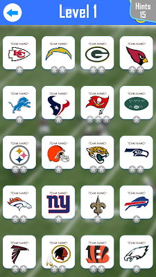 American Football Quiz - screenshot
