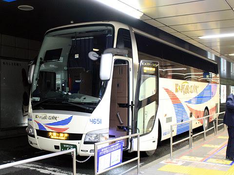 京成バス「K★スターライナー」 大阪・神戸線 H651 横浜駅東口バスターミナル改札中