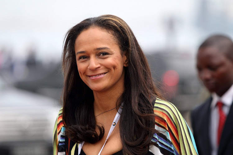 Isabel Dos Santos has been fired from Sonangol state oil company.