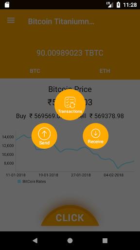 Bitcoin Titanium Wallet 1.0.1 screenshots 3