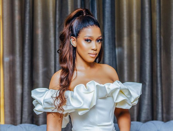 Actress Buhle Samuels got dragged for her 'crime will go down' thanks to Covid-19 joke.