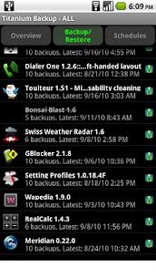 Titanium Backup PRO Key ★ root needed MOD Apk 1.3.2 (Paid) 1