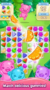 Gummy Gush: Match 3 Puzzle - náhled