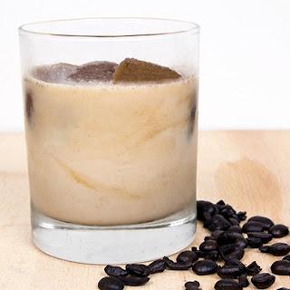 Healthier Iced Vanilla Latte.