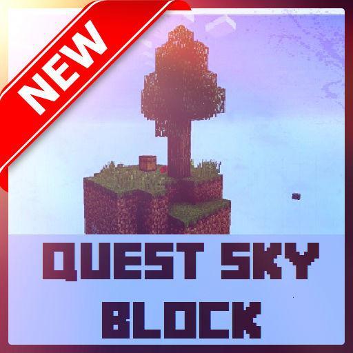 Quest Sky Block Minecraft Map