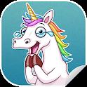 New WAStickerApps 🦄 Unicorn Stickers For WhatsApp icon