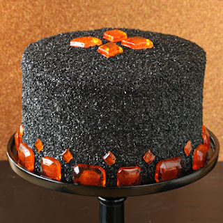 Devil's Food Cake with Pumpkin Butterscotch Frosting