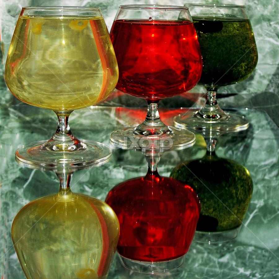 colorful glass by LADOCKi Elvira - Artistic Objects Glass (  )