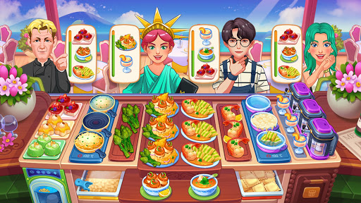 Cooking Dream: Crazy Chef Restaurant Cooking Games modavailable screenshots 2