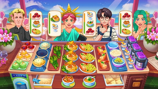 Cooking Dream: Crazy Chef Restaurant MOD (Unlimited Money) 2