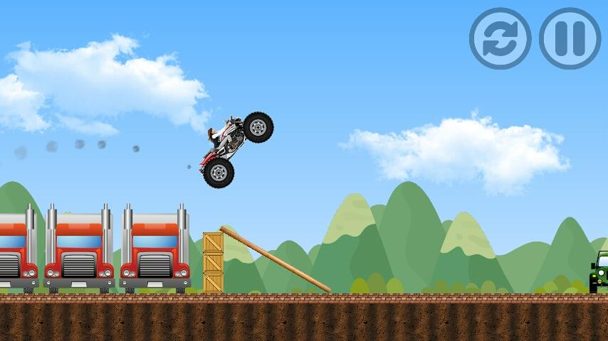 Harley Motorcycle Game- screenshot