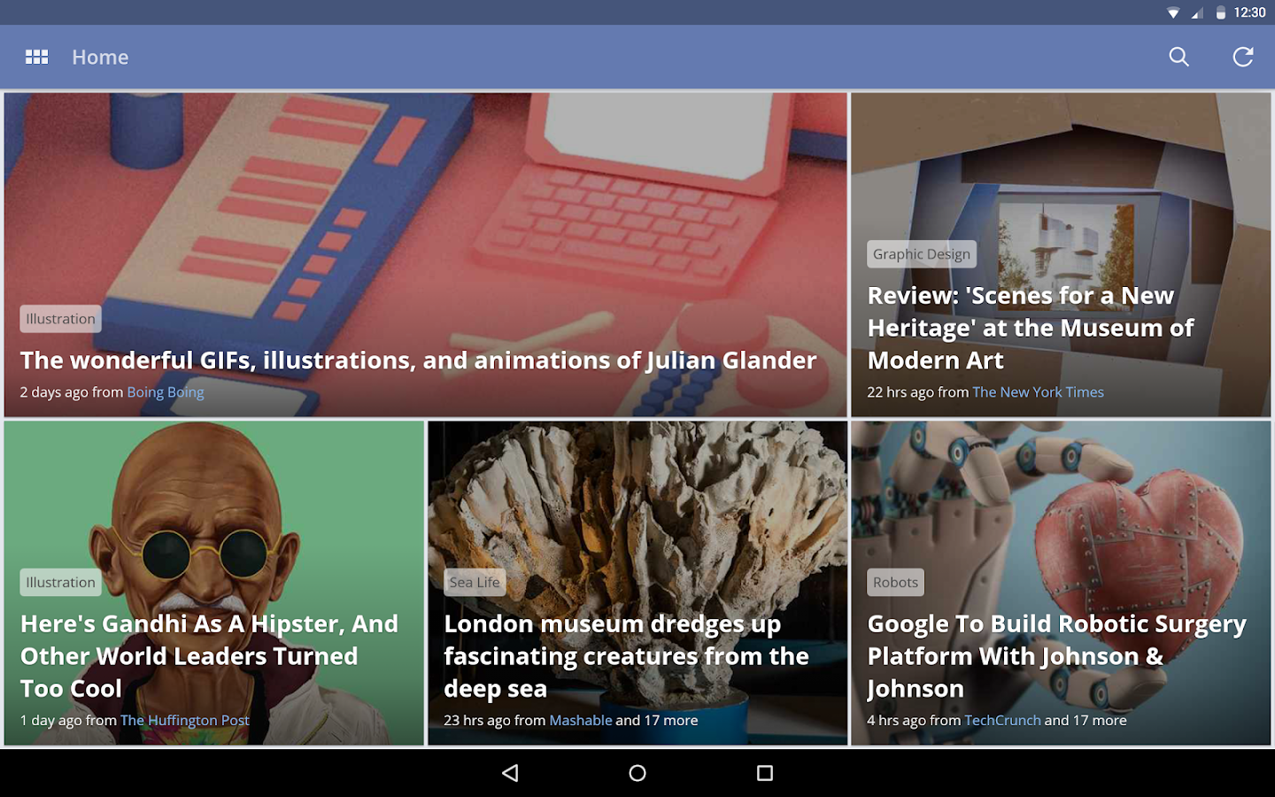 News360: Personalized News- screenshot