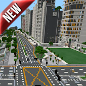 Architecture City MCPE map