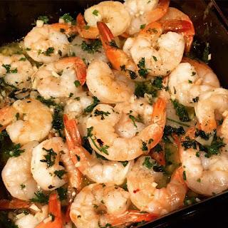 Garlic Shrimp Scampi.
