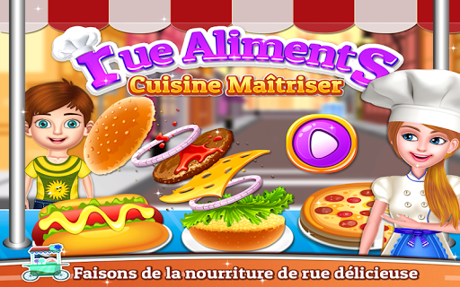Street Food - Cooking Game captures d'u00e9cran 1