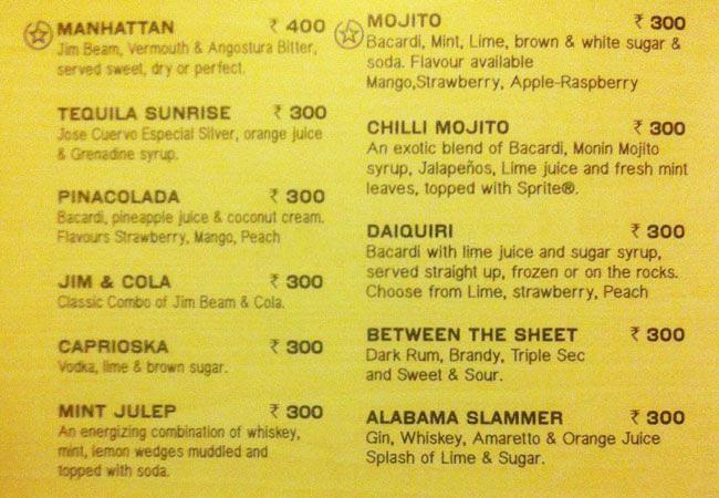 Chili's Grill & Bar menu 3