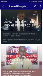 Journal Tv Sénégal for PC-Windows 7,8,10 and Mac apk screenshot 9