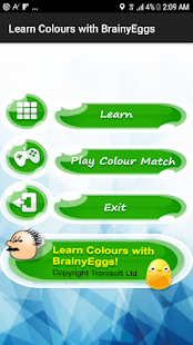 Learn Colours - Free with BrainyEggs - náhled