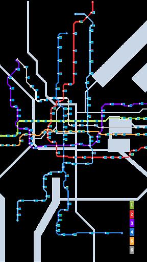 苏州地铁路线图