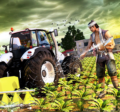 Tractor Farming Simulator - Big Farm Tractor Games apkmr screenshots 7