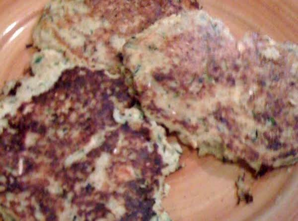 Rosemary Salmon-veggie Patties Recipe