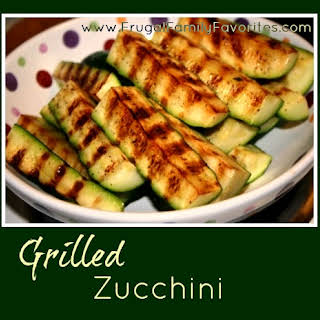 Grilled Zucchini.