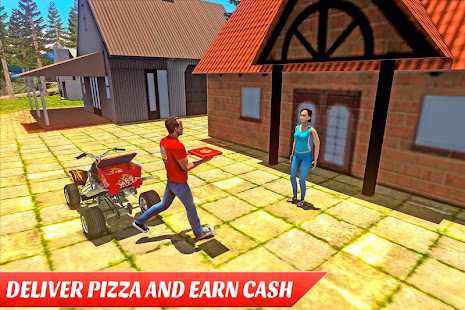 ATV Pizza Delivery Boy screenshot