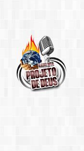Rádio Projeto de Deus Web - náhled