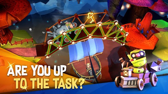ApkMod1.Com Bridge Builder Adventure + (Free Shopping) for Android Game Puzzle