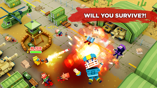 Pixel Arena Online: Multiplayer Blocky Shooter- screenshot thumbnail