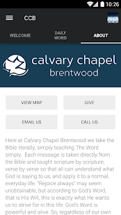 Calvary Chapel Brentwood- screenshot thumbnail