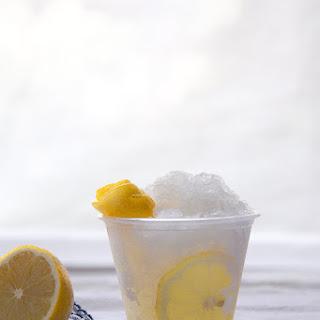 Vodka Tonic Slush.
