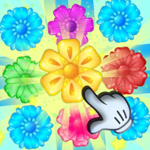 Flower Crush Garden Mania