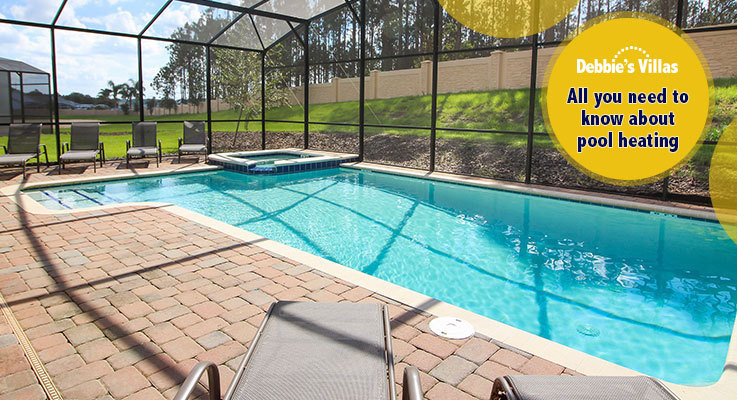 Take a dip in your heated private pool
