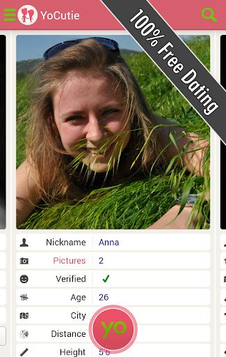 YoCutie - 100% Free Dating App - Flirt, Chat, Meet Screenshot