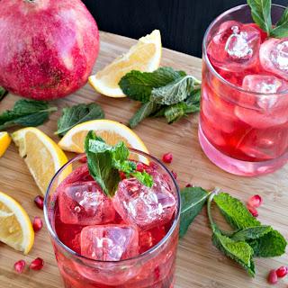 Pomegranate Maple Whiskey Smash