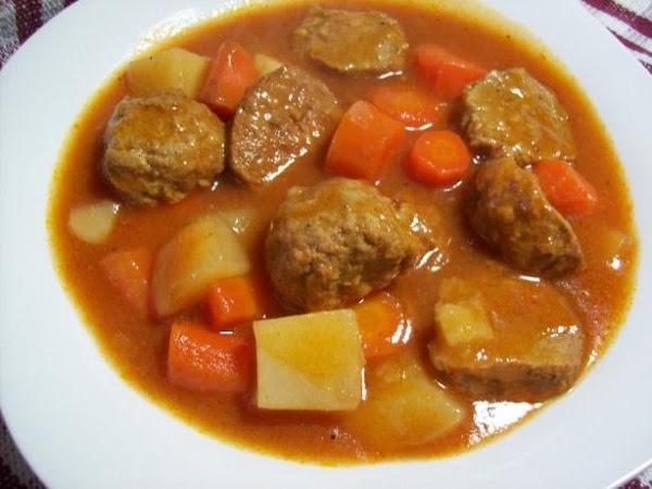 Crock Pot Meatball Stew Recipe