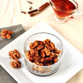 Spiced Walnuts Snack Recipes.