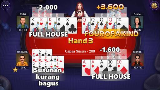 Capsa Susun, Chinese poker - Free forever 1.0 screenshots 5