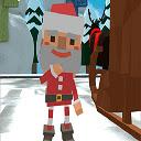 Christmas Runner Icon