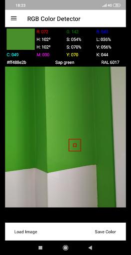 RGB Color Detector 1.0.61 screenshots 1